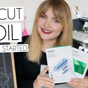 GETTING STARTED WITH THE NEW CRICUT FOIL TRANSFER SYSTEM | UN-BOXING, SETUP, PROJECTS & UK BASED