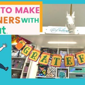 Banner with Cricut | Melody Lane