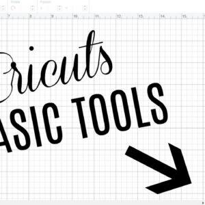 BASICS OF CRICUT DESIGN SPACE | SLICE WELD ATTACH FLATTEN CONTOUR