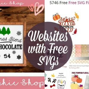 BEST WEBSITES WITH FREE SVGS