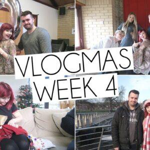 CHRISTMAS DAY & MY GRANDPARENTS 80th BIRTHDAY | Weekly Vlogmas 4