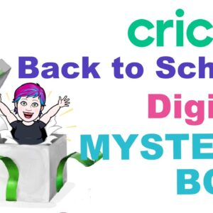 Cricut Ditgital Mystery Box- Back to School