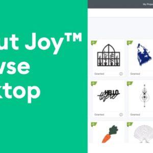 Cricut Joy™ - Browse Desktop