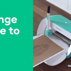 Cricut Joy™ - Change the Blade to Pen