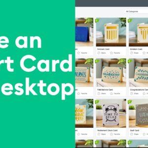 Cricut Joy™ - Desktop Insert Card
