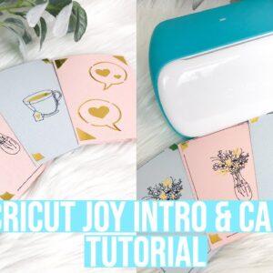 CRICUT JOY INTRO AND CARD TUTORIAL