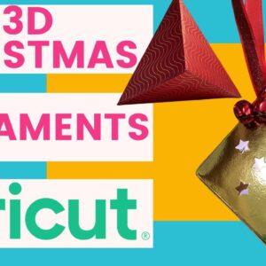 DIY Christmas Ornaments with Cricut | Melody Lane