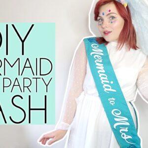 DIY Cricut Vinyl Mermaid to Mrs Bridal Shower Hen Party Sash