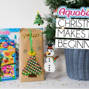 Easy Beginner Aquabeads Decoration & Gift Tag Tutorial | AD