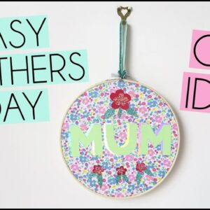 EASY DIY MOTHERS DAY SLOGAN WALL HANGING | HEAT PRESS VINYL