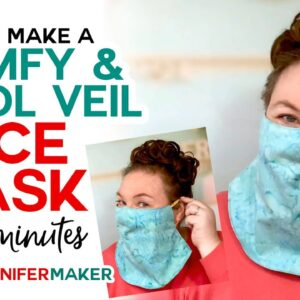 Easy Veil Face Mask - Cool for Summer! - Free 15-Minute Pattern