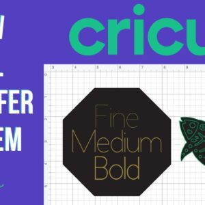 Foiling in Cricut Design Space Class