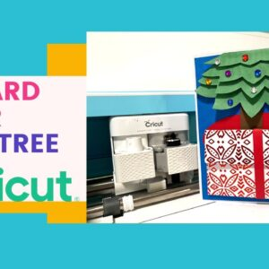 Gift Card Under Tree Card With Cricut & Melody Lane