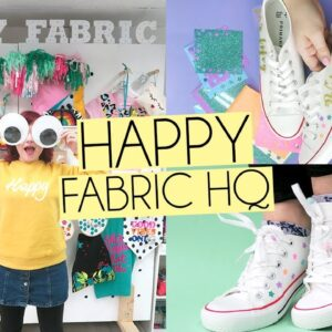 HAPPY FABRIC HEAT TRANSFER VINYL CRAFTS | Wifey shoes & Mothers Day