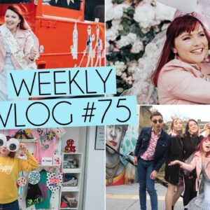 HEN DAY OUT LONDON AFTERNOON TEA BUS | Weekly Vlog #75