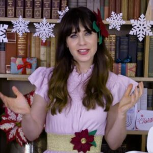 Holiday Crafting with Zooey Deschanel and Cricut