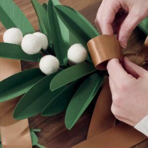 Homemade for the Holidays - Wreath Making