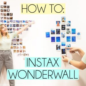 HOW TO CREATE YOUR OWN INSTAX WONDERWALL AT HOME
