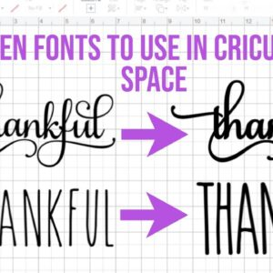 HOW TO THICKEN FONTS IN INKSCAPE TO USE IN CRICUT DESIGN SPACE