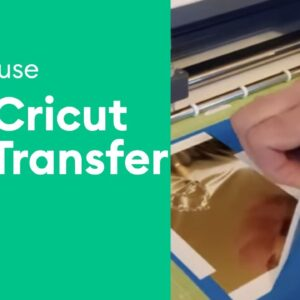 How to Use the Cricut Foil Transfer System