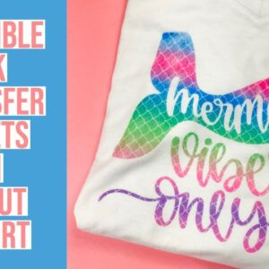 INFUSIBLE INK TRANSFER SHEET ON CRICUT T-SHIRT