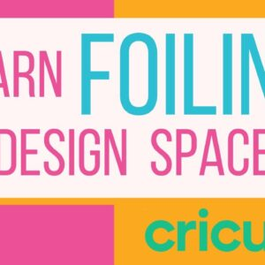 Learn Foiling in Design Space Q&A | Free Live Class with Melody Lane