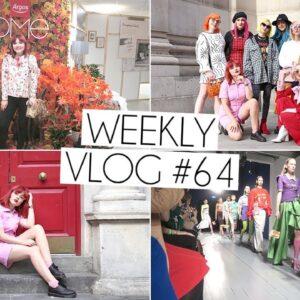 LONDON FASHION WEEK SS19 | Weekly Vlog #64
