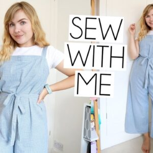 SEW WITH ME | Tilly & The Buttons Safiya Jumpsuit VLOG