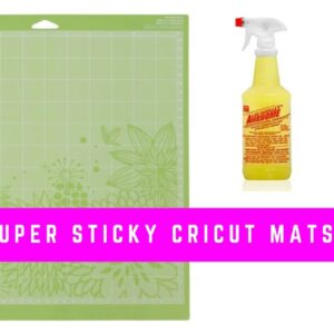 How to Clean Your Cricut Mat With Awesome Spray and Wipes - Restick Your Mat