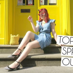 Topshop Spring Outfit | Style Lookbook