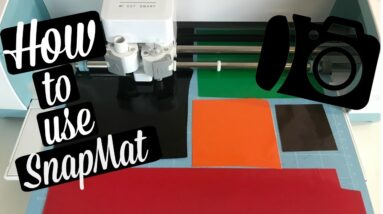 HOW TO CUT MULTIPLE COLORS OF VINYL ON ONE MAT USING SNAPMAT WITH CRICUT