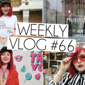 WILLIAM MORRIS COLLECTION at H&M LAUNCH | Weekly Vlog #66
