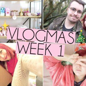 WINTER WALKS & FESTIVE FUN TIMES | Vlogmas week 1