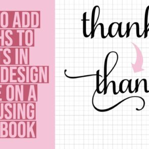 HOW TO EASILY ADD FLOURISHES/EXTRA CHARACTERS/GLYPHS IN CRICUT DESIGN SPACE ON A MAC USING FONT BOOK