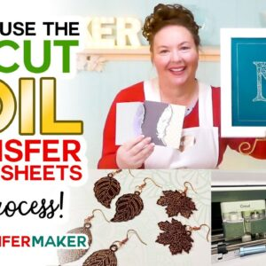 Amazing Cricut Foil Transfer Tool Projects — Full Process + Free Foil Designs!