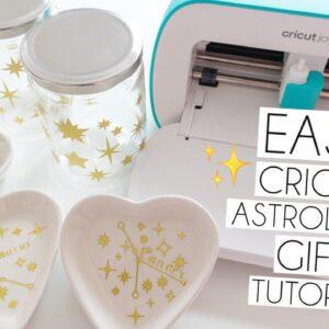 2 EASY CRICUT ASTROLOGY STAR SIGN GIFT IDEAS