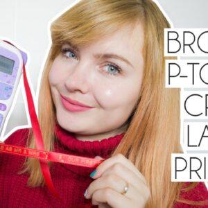 AD | DIY Brother PT Craft Label Printer Un-Boxing & Craft Ideas