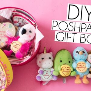DIY POSH PAWS X LOVE HEARTS THEMED GIFT BOX | EASY TUTORIAL