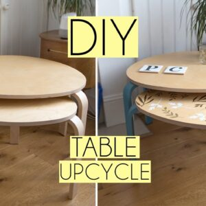 DIY Upcycled Tables with Paint & Cricut Vinyl | Gumtree AD