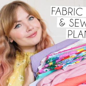 FABRIC STASH & SEWING PLANS JULY 2020