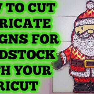 How to cut and assemble a 3D mandala - Cut intricate designs Cricut