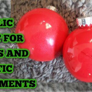 How to paint ornaments - Acrylic paint - Best Acrylic paint - Paint test