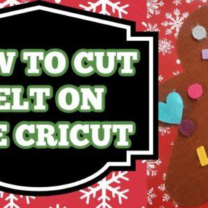 How to cut felt with Cricut - Felt Activity kit - Felt play set - Kids activity to make with Cricut
