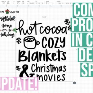HOW TO COMBINE PROJECTS IN CRICUT DESIGN SPACE - NEW UPDATE DECEMBER 2020