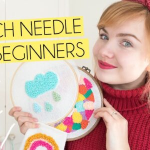 PUNCH NEEDLE FOR BEGINNERS | How to get started, tips & UK Based