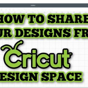 Cricut - Saving an image to use outside of design space - convert to sharable SVG