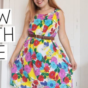 SEW WITH ME VLOG | Rosa Dress