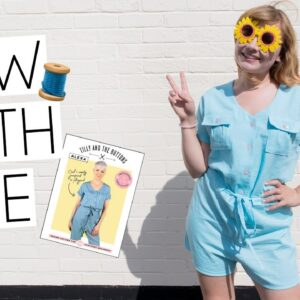 SEW WITH ME VLOG | Tilly & The Buttons Alexa Romper & Mindful Sewing