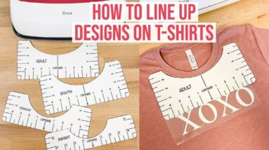 HOW TO LINE UP DESIGNS ON T-SHIRTS USING A PDF ALIGNMENT TOOL