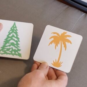 Make Infusible Ink Coasters